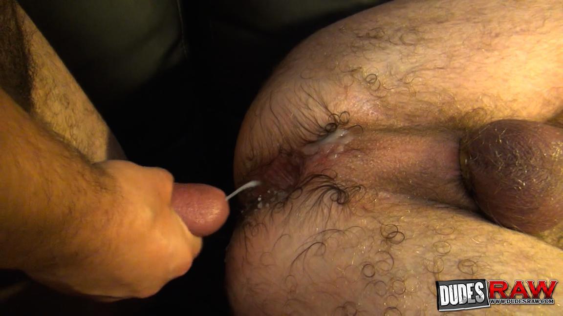 Dudes Raw Kodah Filmore and James Roscoe Barebacking A Hairy Ass Piggy Sex Amateur Gay Porn 17
