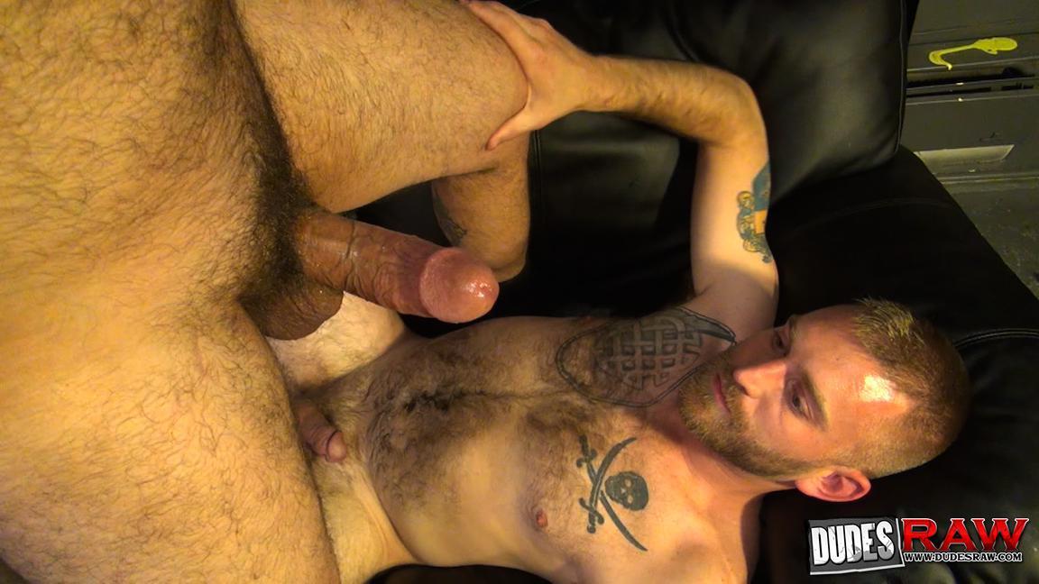 Dudes Raw Kodah Filmore and James Roscoe Barebacking A Hairy Ass Piggy Sex Amateur Gay Porn 21