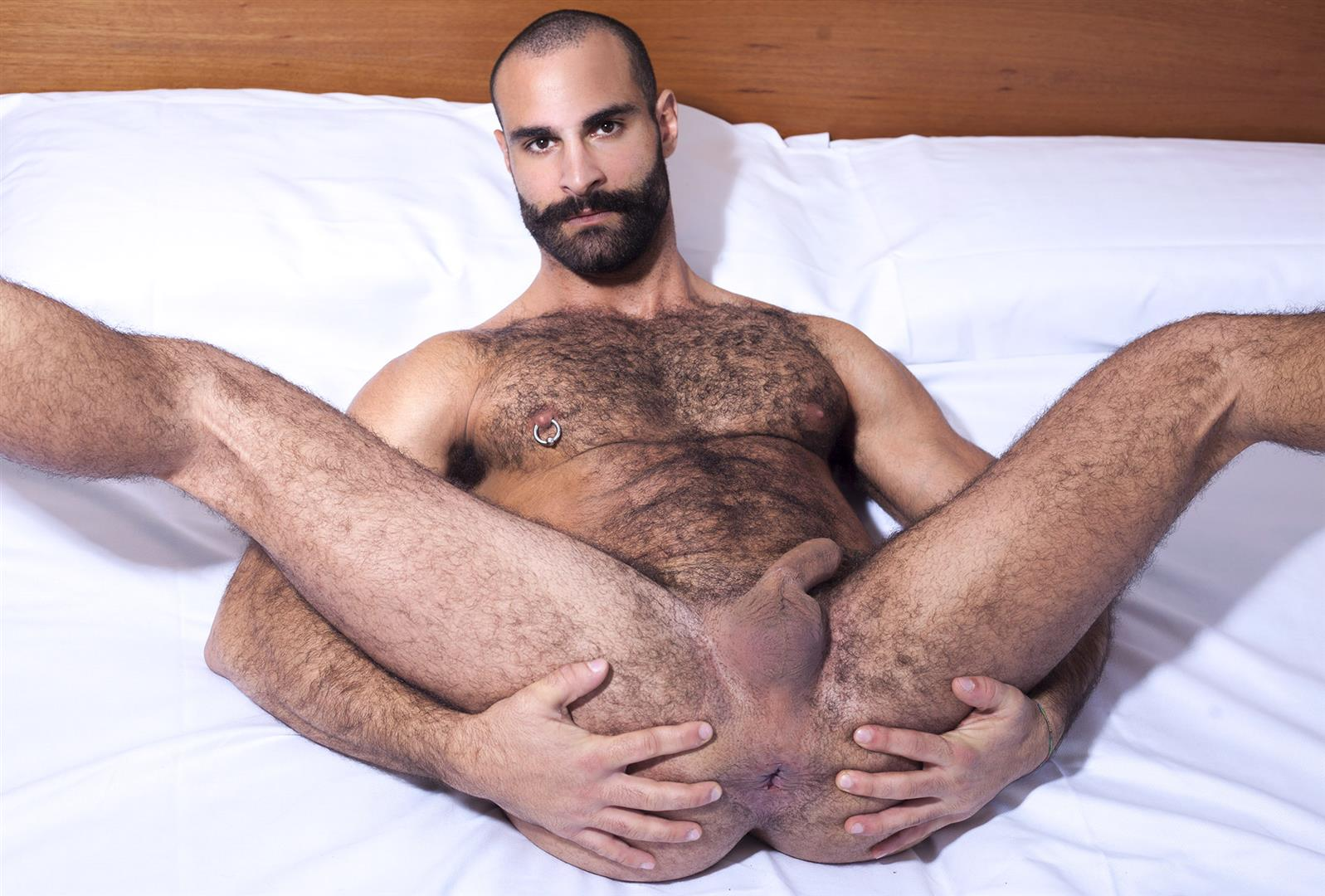 Fuckermate Jean Frank and Paco Hairy Muscle Hunks With Big Uncut Cocks Fucking Amateur Gay Porn 18