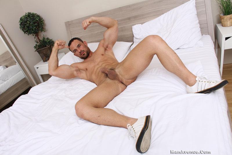 Man Avenue Naked Men Muscle Hunks Big Uncut Cocks Jerking Off Amateur Gay Porn 16