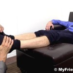My Friends Feet Colby Keller and Johnny Hazzard Jerking Off And Feet Worship Amateur Gay Porn 06 150x150 Colby Keller Jerks Off While Getting His Feet Worshipped By Johnny Hazzard