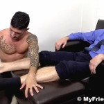 My Friends Feet Colby Keller and Johnny Hazzard Jerking Off And Feet Worship Amateur Gay Porn 08 150x150 Colby Keller Jerks Off While Getting His Feet Worshipped By Johnny Hazzard