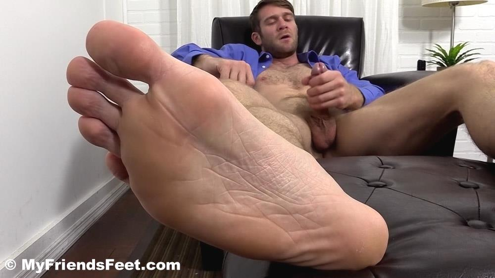 My Friends Feet Colby Keller and Johnny Hazzard Jerking Off And Feet Worship Amateur Gay Porn 18