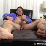 My Friends Feet Colby Keller and Johnny Hazzard Jerking Off And Feet Worship Amateur Gay Porn 19 150x150 Colby Keller Jerks Off While Getting His Feet Worshipped By Johnny Hazzard