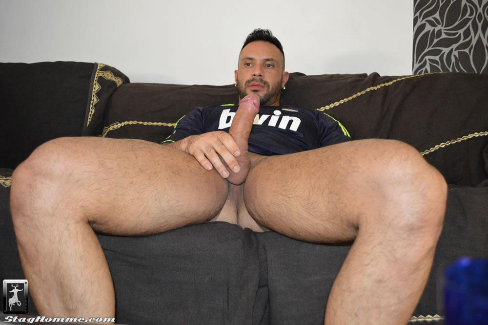 Stag Homme Antonio Aguilera and Flex Big Uncut Cock Muscle Hunks Fucking Amateur Gay Porn 05