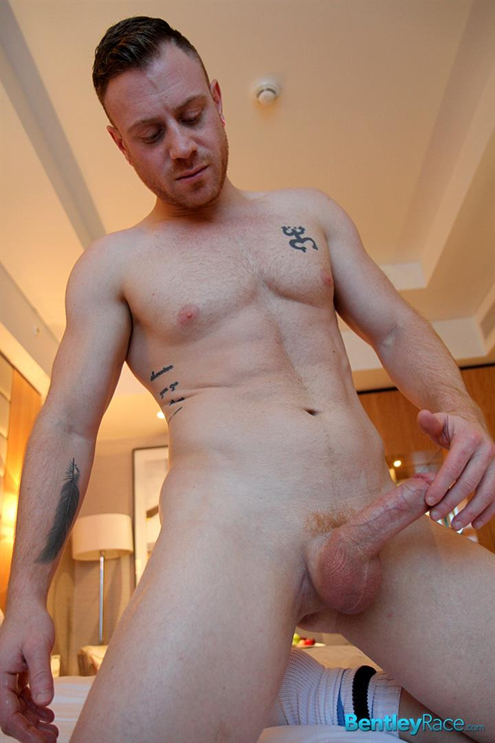 Bentley Race Saxon West Redhead With Beefy Ass And Big Uncut Cock Amateur Gay Porn 08