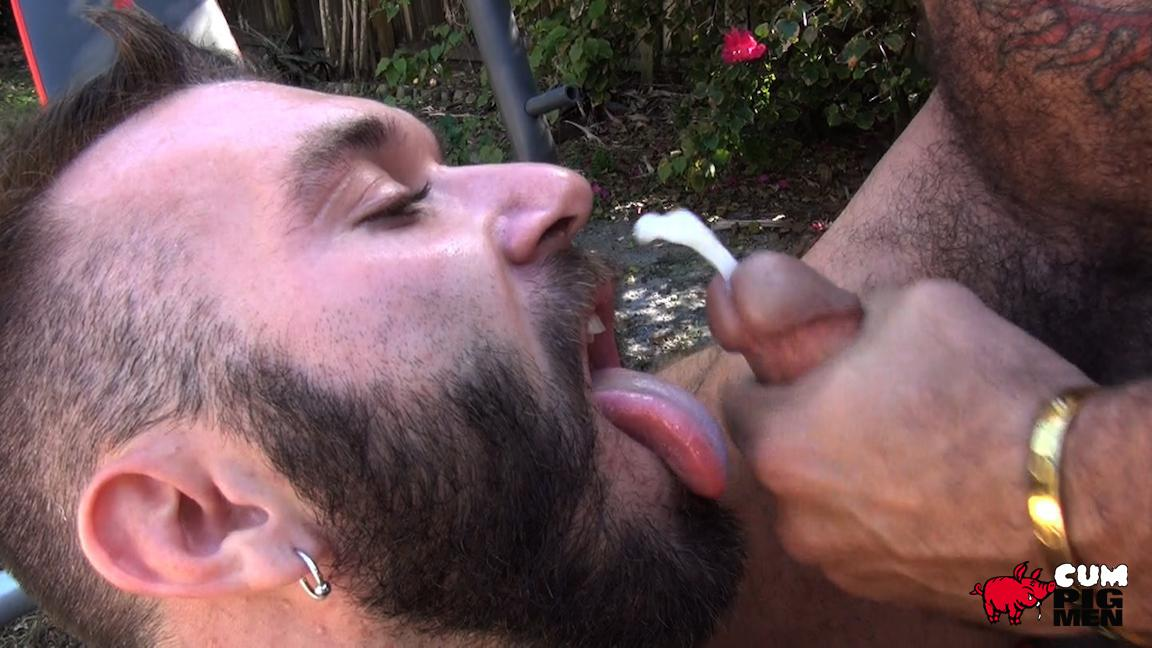 Cum Pig Men Alessio Romero and Ethan Palmer Hairy Muscle Latino Daddy Cocksucking Amateur Gay Porn 18