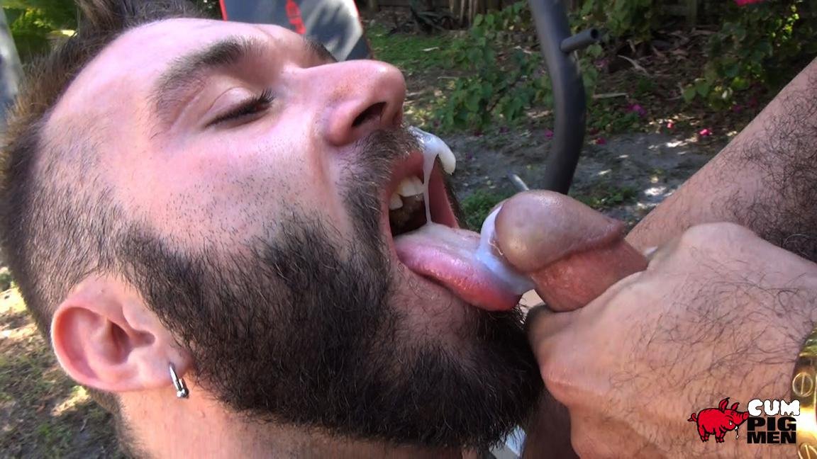 Cum Pig Men Alessio Romero and Ethan Palmer Hairy Muscle Latino Daddy Cocksucking Amateur Gay Porn 24