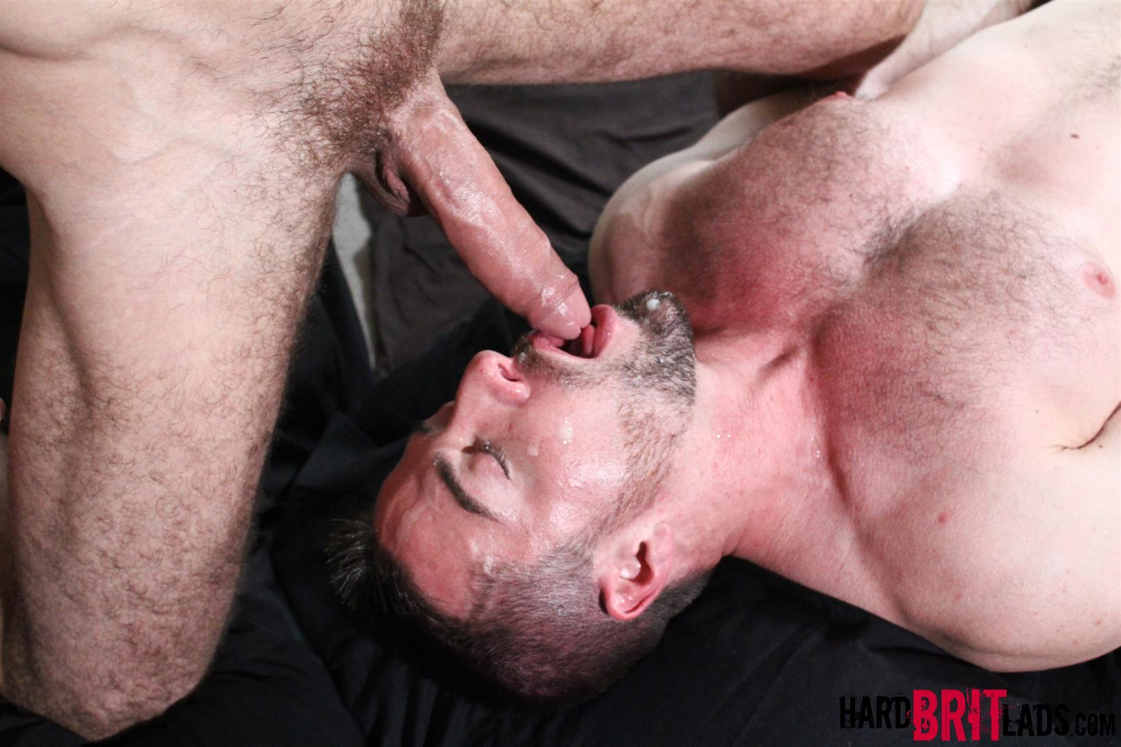 Hard Brit Lads Craig Daniel Scott Hunter Hairy Muscle Hunks With Big Uncut Cocks Fucking Amateur Gay Porn 21