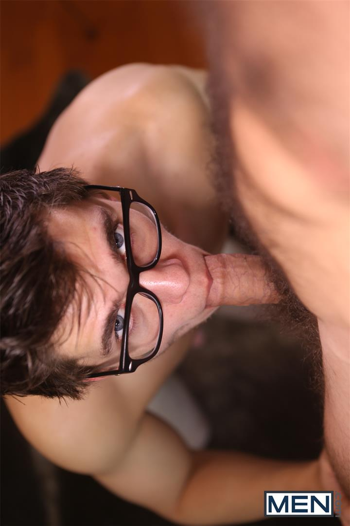 Men Will Braun and Jimmy Fanz Nerdy Guy Fucking A Hairy Muscle Hunk Amateur Gay Porn 10