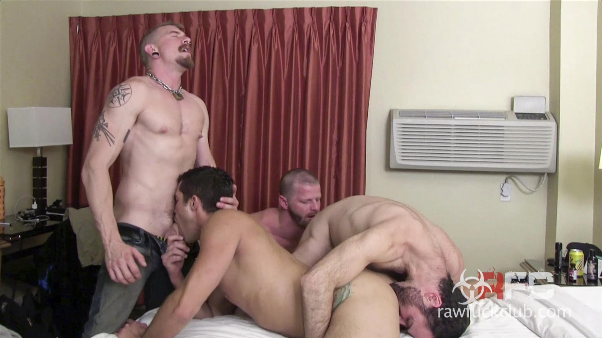 Raw Fuck Club Dylan Saunders and Dusty Williams and Jeff Kendall and Jeremy Stevens BBBH Amateur Gay Porn 05