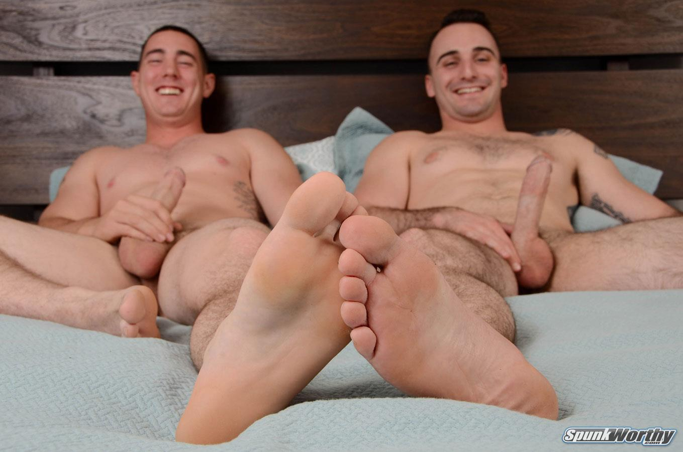 gay daddy cums inside my asshole then pulls out