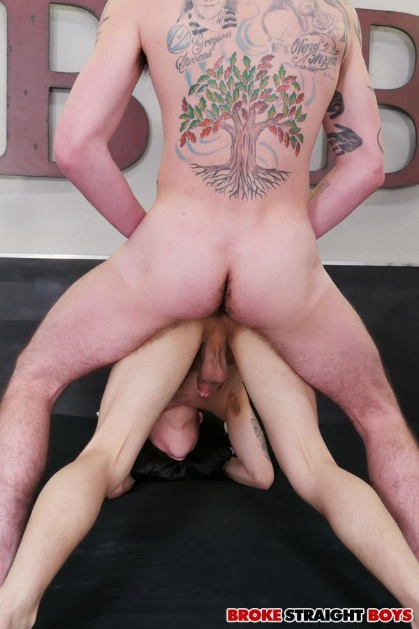 Broke Straight Boys Cage Kafig and Tyler White Twinks Barebacking Hornet Amateur Gay Porn 17