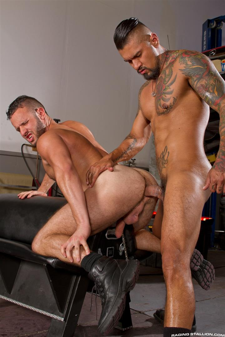 Raging Stallion Boomer Banks and Aaron Steel Big Uncut Cocks Fucking Amateur Gay Porn 13