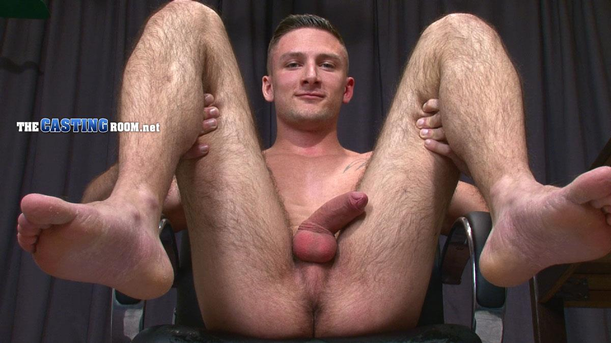 The Casting Room Scott Hairy Ass Straight Man Jerking Big Uncut Cock Amateur Gay Porn 15 Straight Hairy Ass British Guy Auditions For Gay Porn