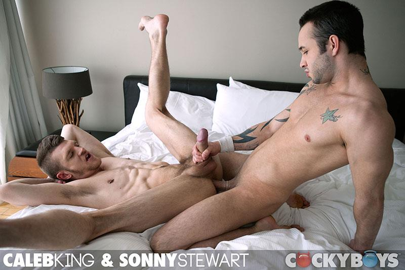 CockyBoys Sonny Stewart and Caleb King Big Uncut Cock Fucking Amateur Gay Porn 19