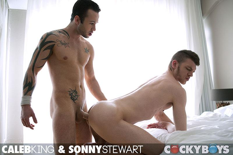 CockyBoys Sonny Stewart and Caleb King Big Uncut Cock Fucking Amateur Gay Porn 22
