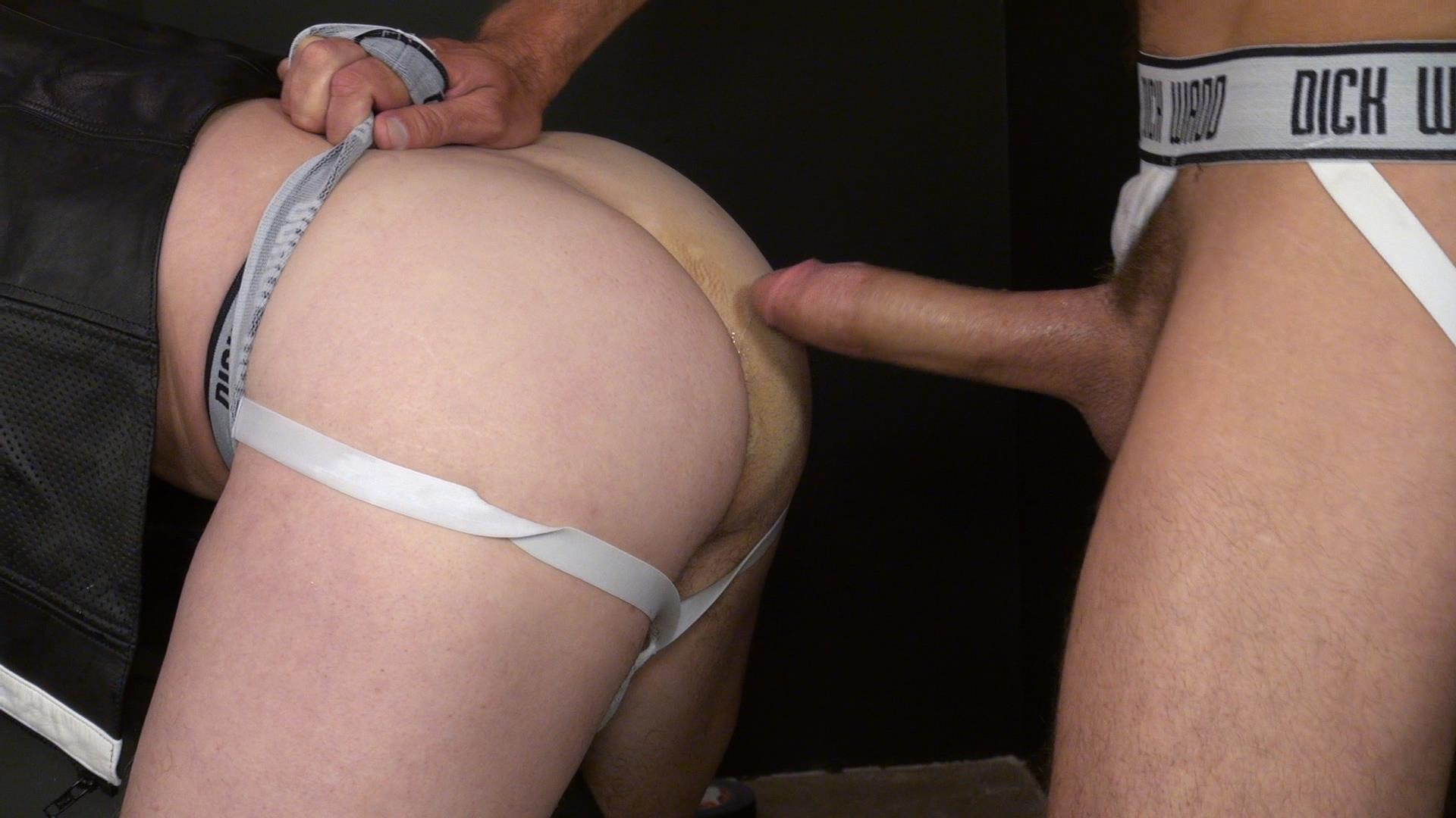 Raw and Rough Nick Roberts and Jason Stormme and Super Steve Bareback Bathhouse Amateur Gay Porn 15
