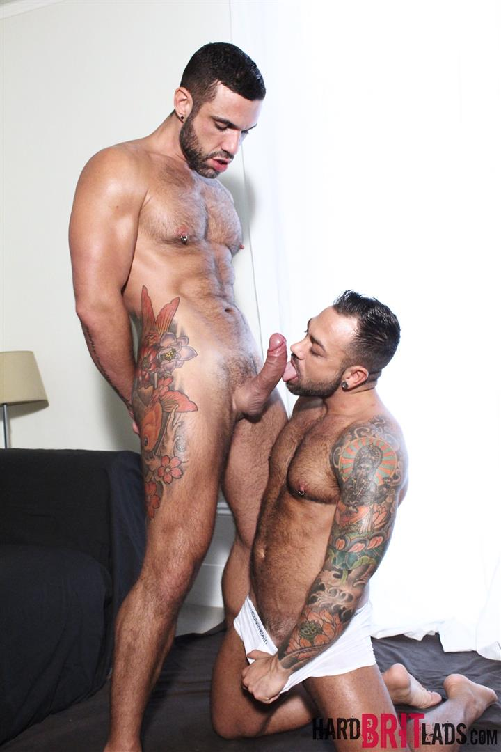 Hard Brit Lads Sergi Rodriguez and Letterio Amadeo Big Uncut Cock Fucking Amateur Gay Porn 05