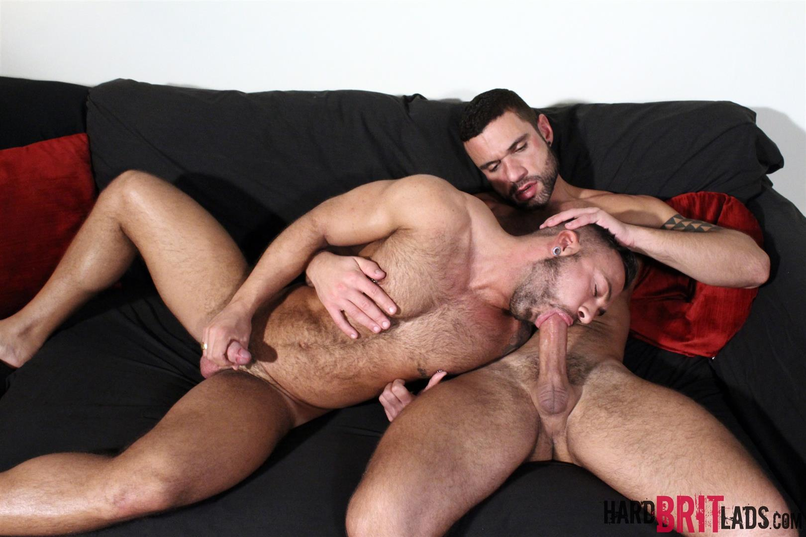 Hard Brit Lads Sergi Rodriguez and Letterio Amadeo Big Uncut Cock Fucking Amateur Gay Porn 12