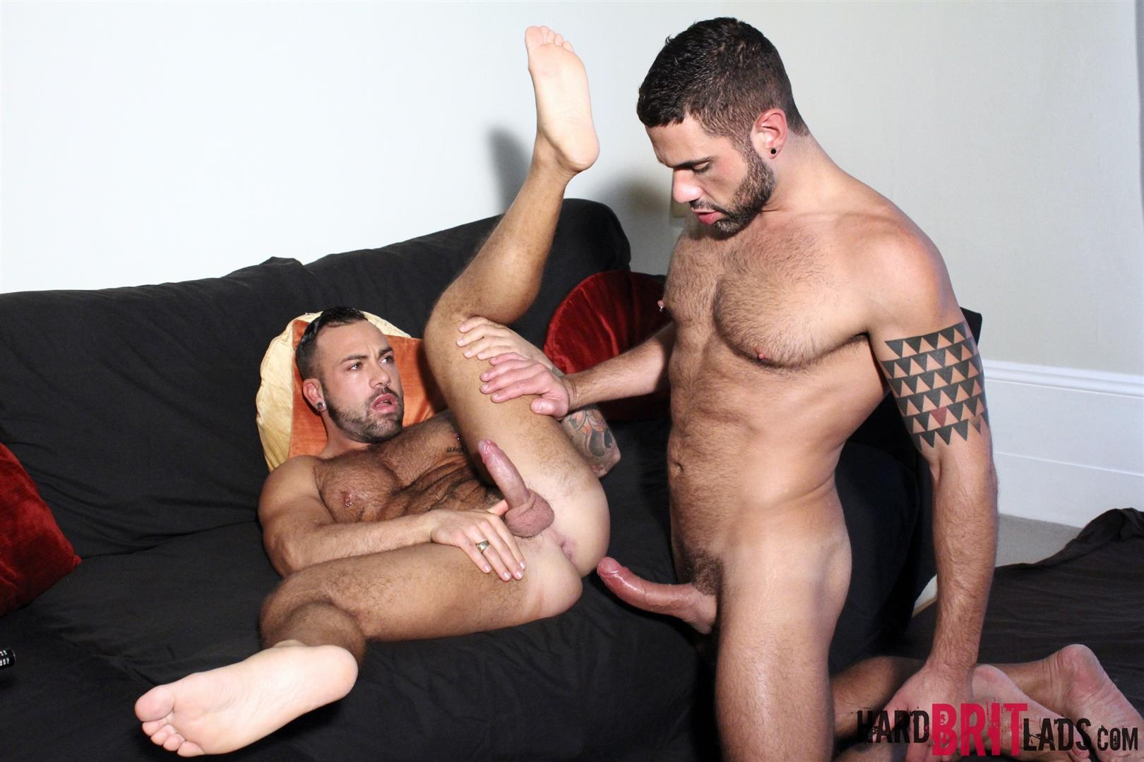 Hard Brit Lads Sergi Rodriguez and Letterio Amadeo Big Uncut Cock Fucking Amateur Gay Porn 13