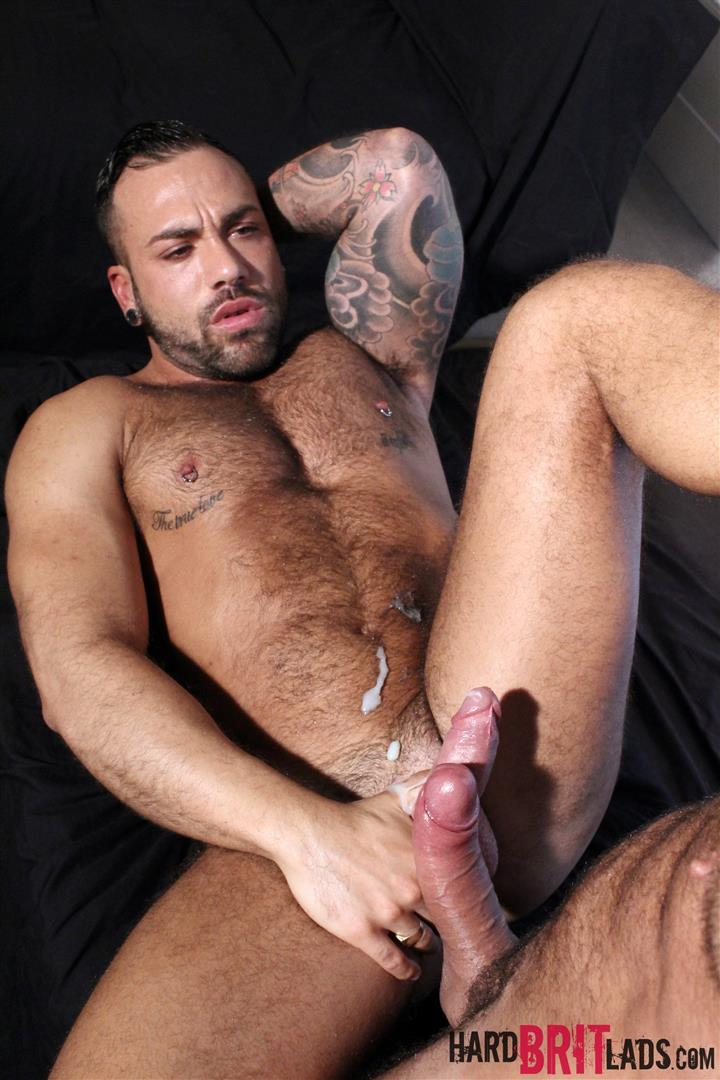 Hard Brit Lads Sergi Rodriguez and Letterio Amadeo Big Uncut Cock Fucking Amateur Gay Porn 25
