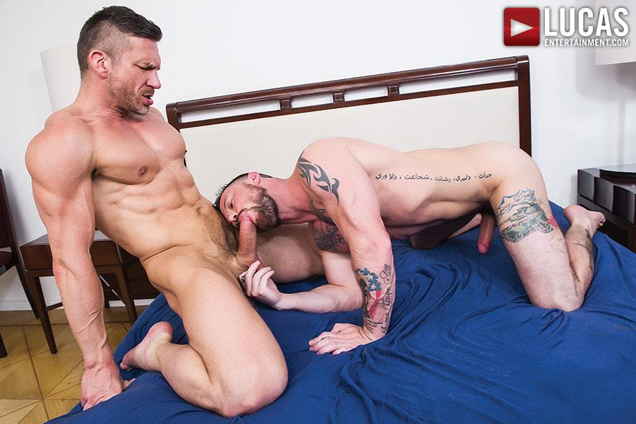 Lucas Entertainment Sergeant Miles and Tomas Brand Military Guy Gets Big Uncut Cock Bareback Amateur Gay Porn 05