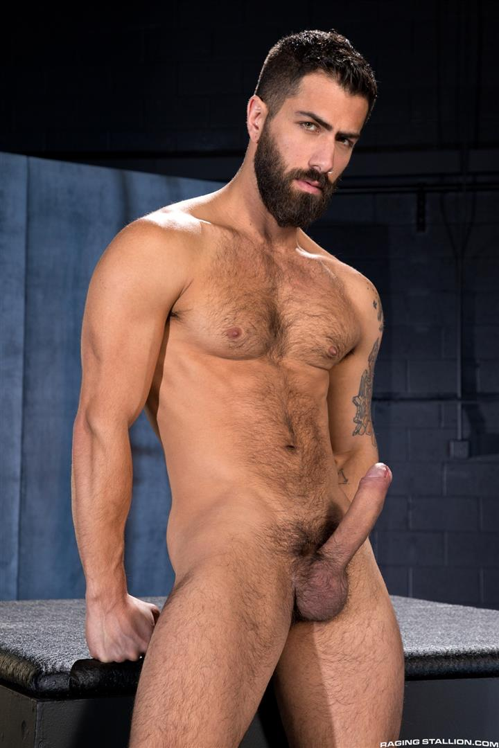 Raging Stallion Adam Ramzi and Dario Beck Hairy Ass And A Big Uncut Cock Amateur Gay Porn 01