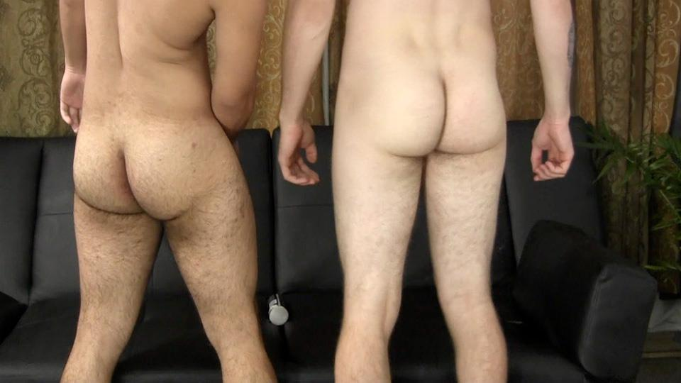 Straight Fraternity Blake and Jesse Latino Sucks His First Cock Amateur Gay Porn 13