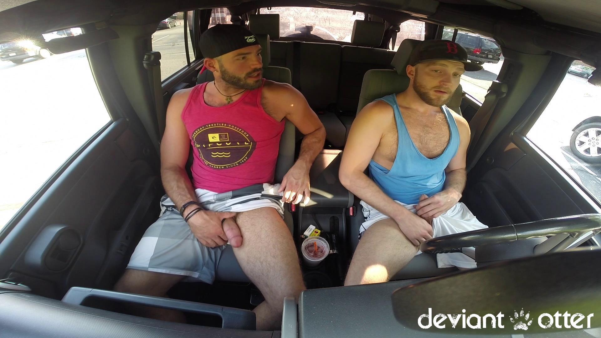 Deviant Otter Xavier Sucking Cock In Public Hairy Guys Amateur Gay Porn 03