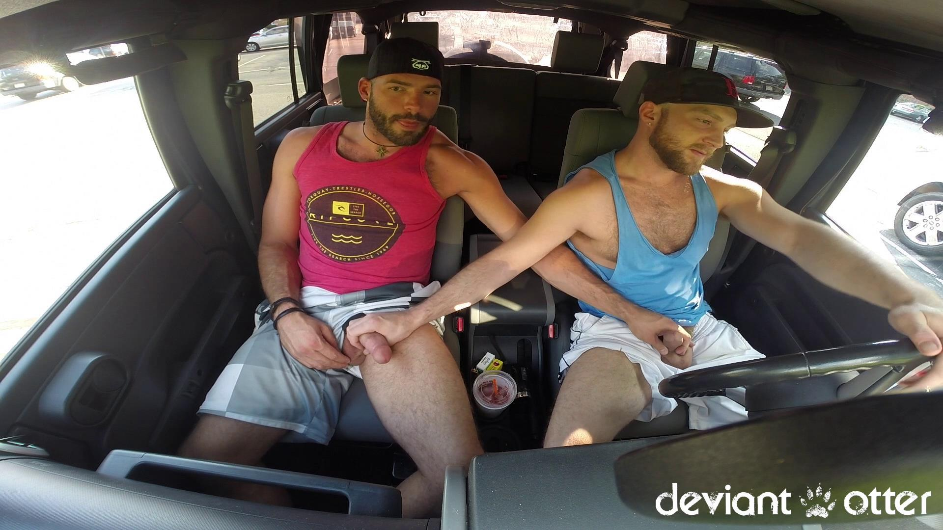 Deviant Otter Xavier Sucking Cock In Public Hairy Guys Amateur Gay Porn 04