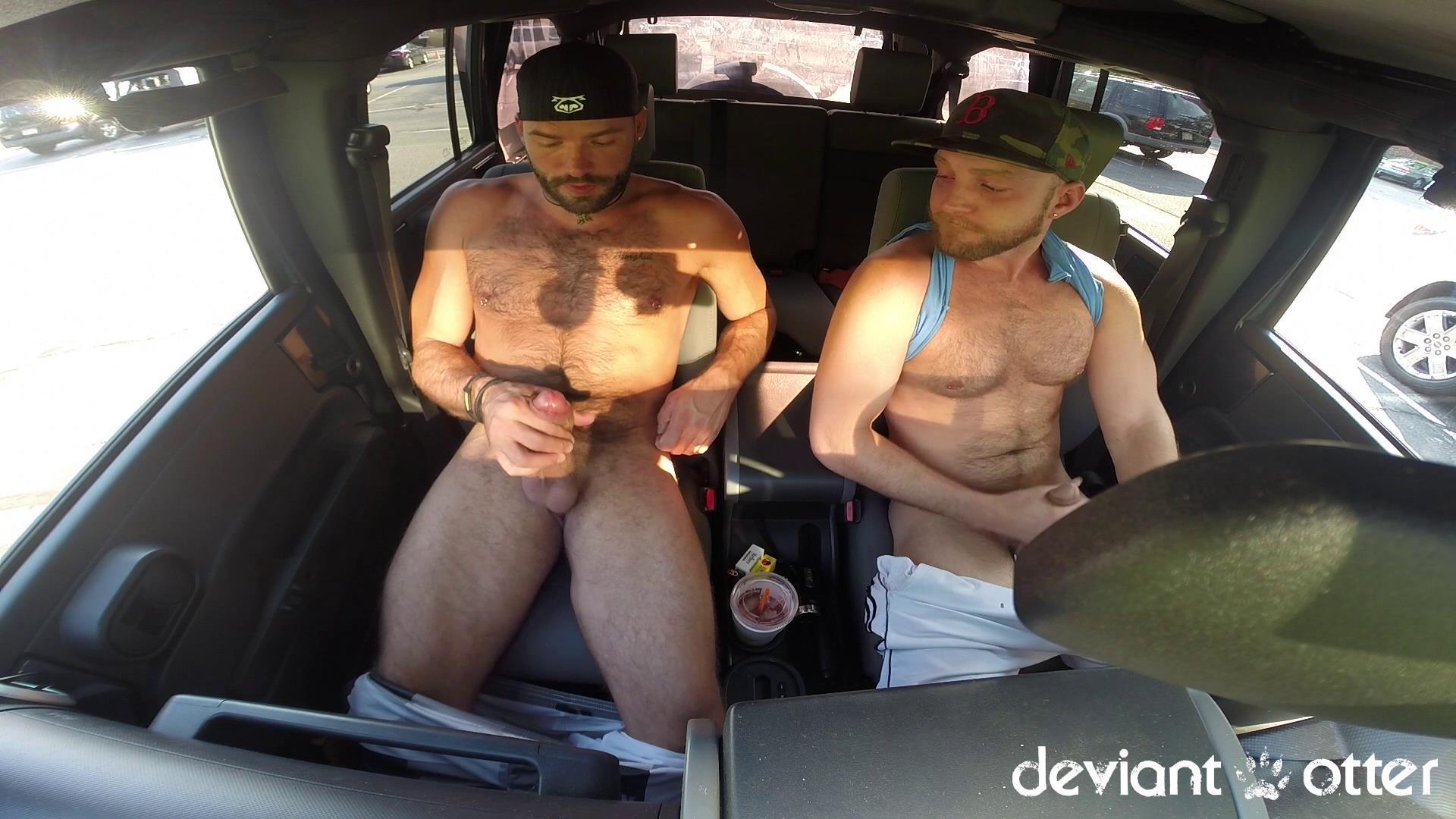 Deviant Otter Xavier Sucking Cock In Public Hairy Guys Amateur Gay Porn 11