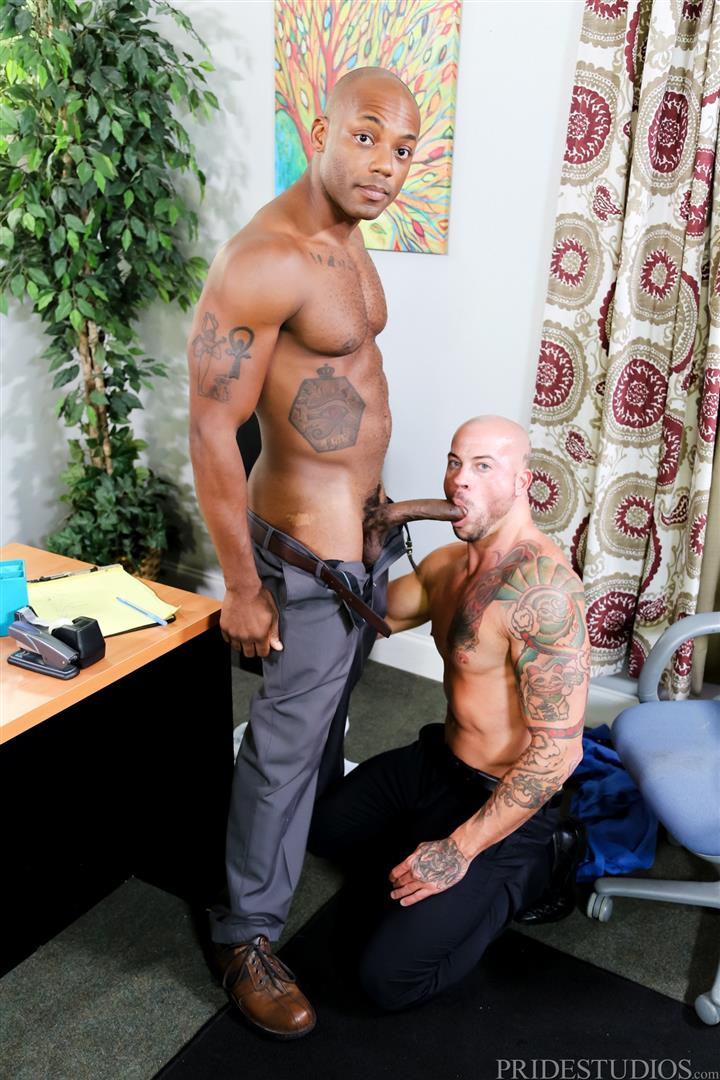 Sean Duran and Osiris Blade Extra Big Dicks Black Cock Interracial Amateur Gay Porn 08