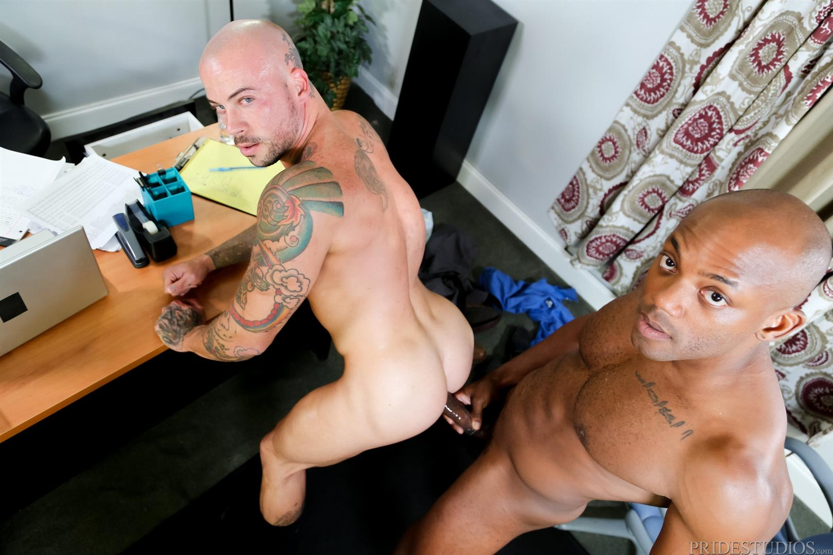 Sean Duran and Osiris Blade Extra Big Dicks Black Cock Interracial Amateur Gay Porn 14