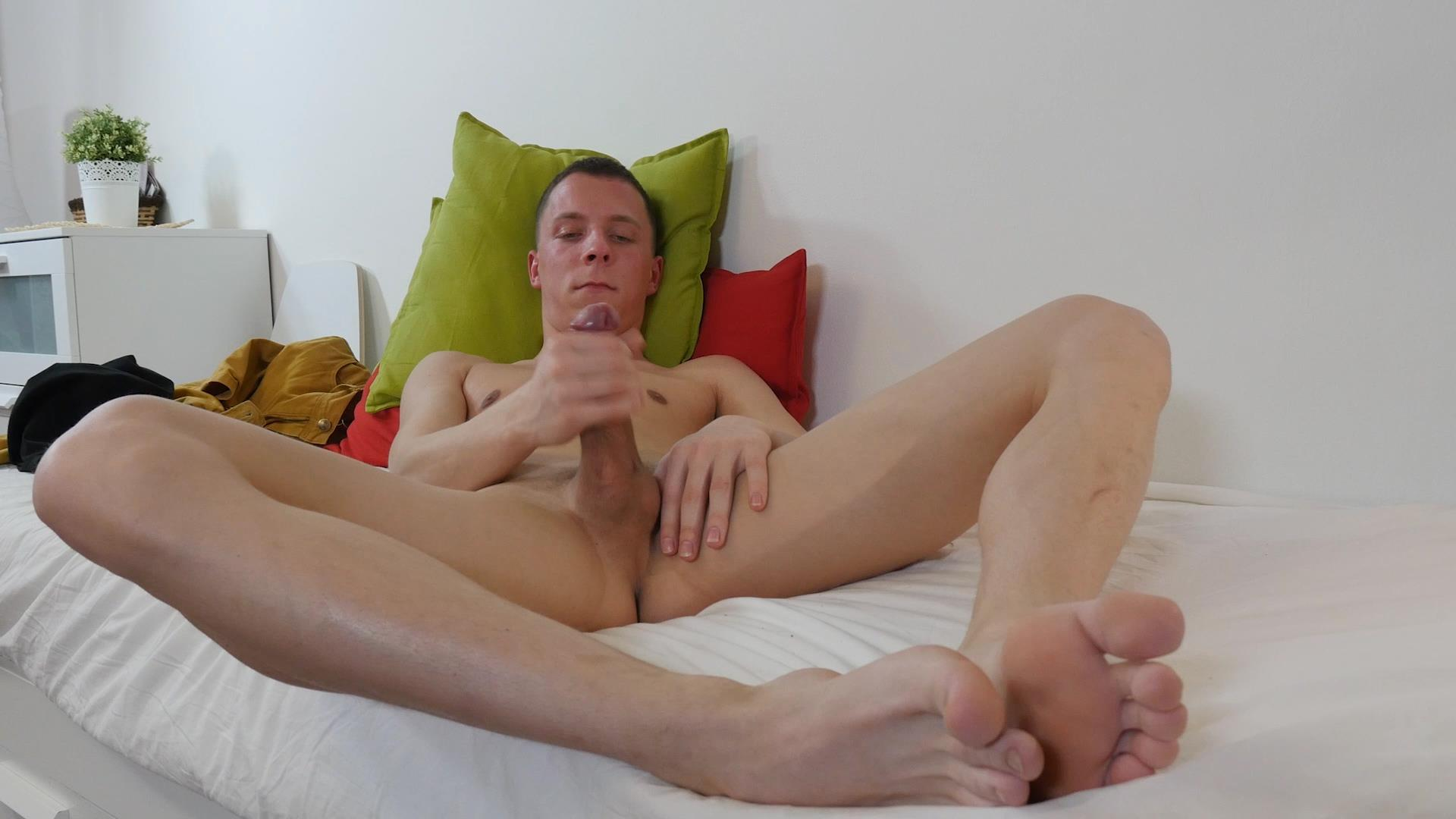 Twink Boys Party Andrew Kitt Twink With Big Uncut Cock Masturbation Amateur Gay Porn 14