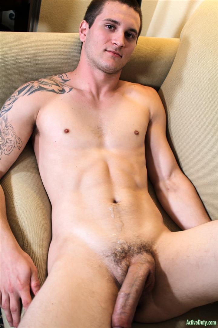 Active Duty Allen Lucas Army Private Jerking Off Big Uncut Cock Amateur Gay Porn 13
