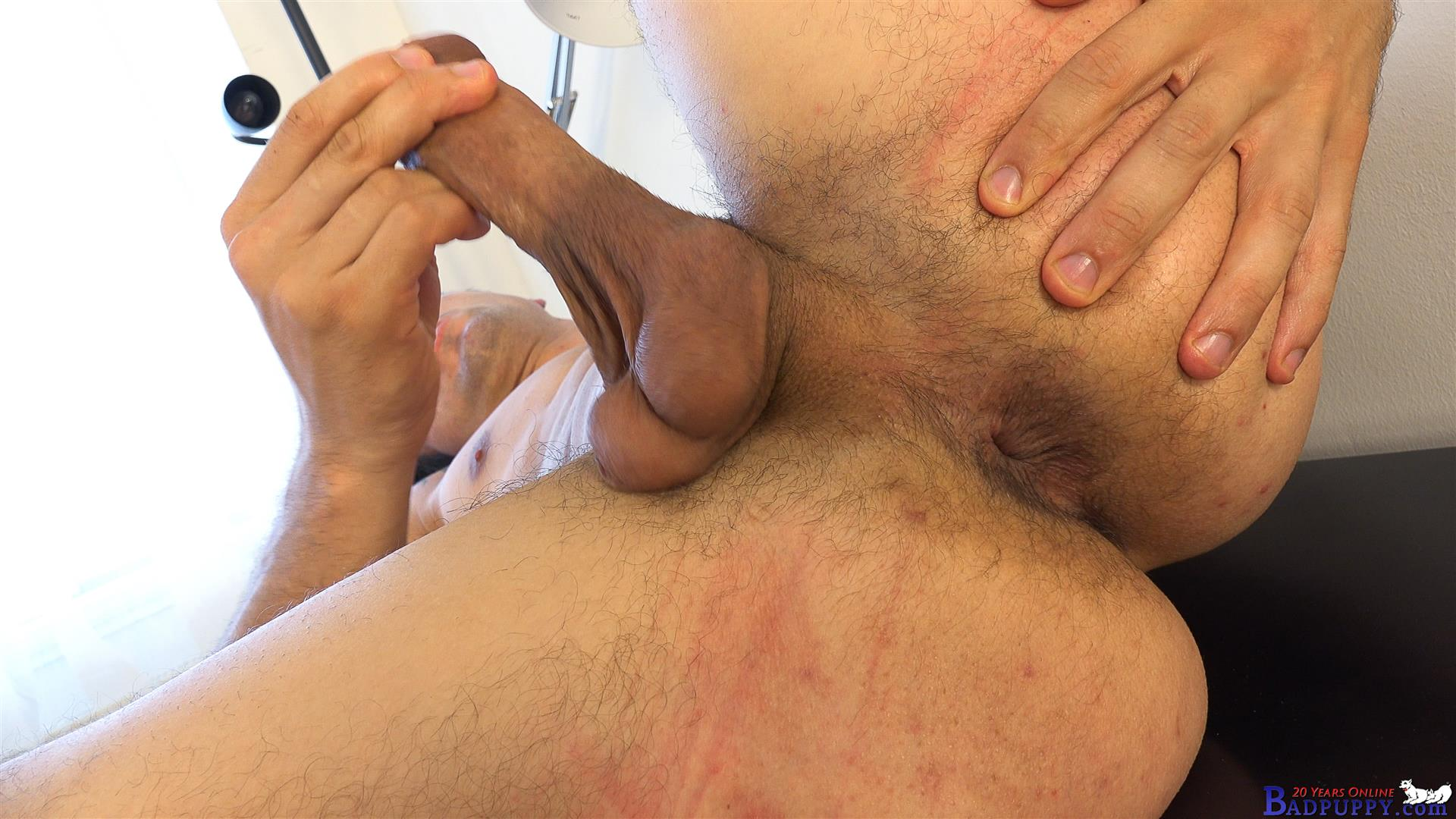 Badpuppy Milan Pis Straight Guy With Big Uncut Cock Masturbating Amateur Gay Porn 11