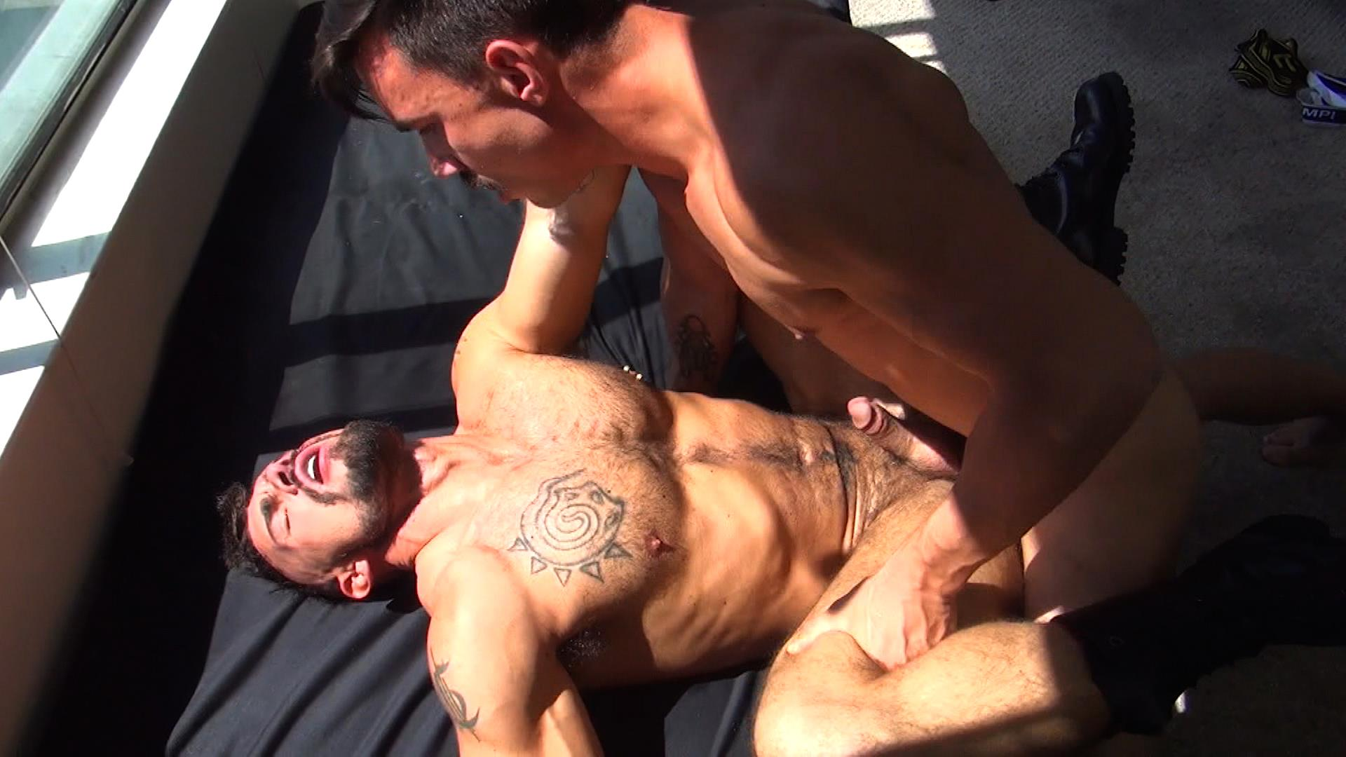 Raw Fuck Club Derrick Hanson and Aarin Asker and Billy Warren and Adam Avery Amateur Gay Porn 03
