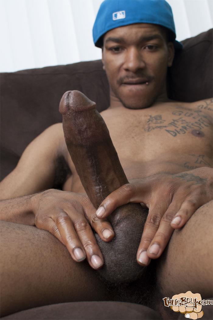 Thug Boys Black Noir Big Black Cock Jerk Off Video Amateur Gay Porn 20