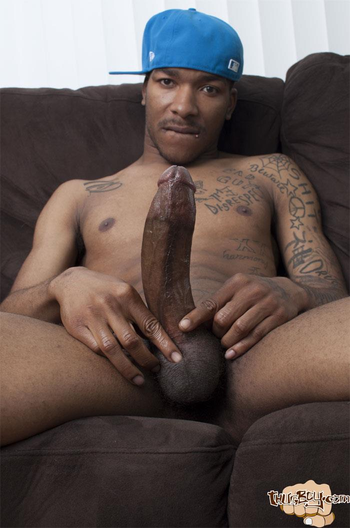 Thug Boys Black Noir Big Black Cock Jerk Off Video Amateur Gay Porn 35