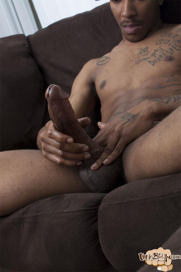 Thug Boys Black Noir Big Black Cock Jerk Off Video Amateur Gay Porn 39