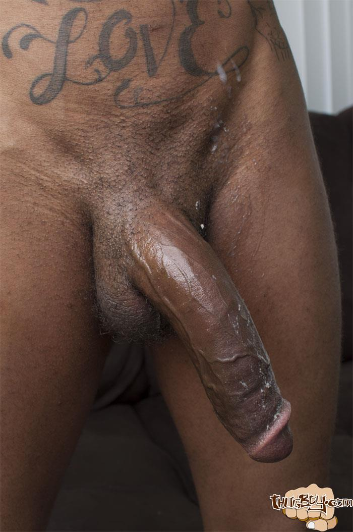 Thug Boys Black Noir Big Black Cock Jerk Off Video Amateur Gay Porn 50