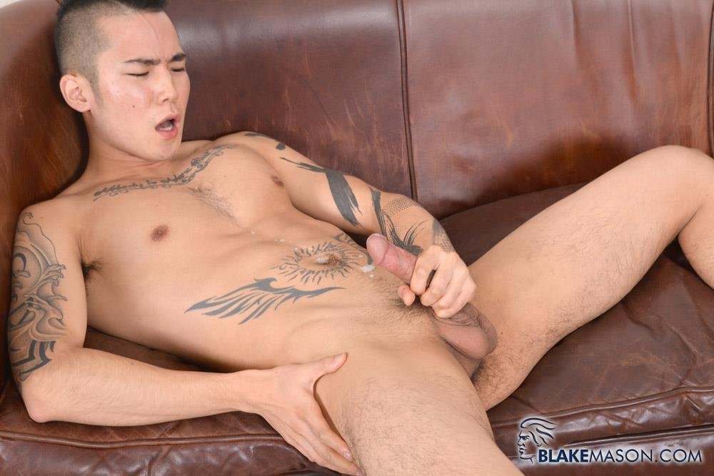 Blake Mason Yoshi Kawasaki Asian Twink Jerking Off Amateur Gay Porn 19
