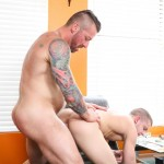 Dylan Lucas Ian Levine and Hugh Hunter Daddy Fucking A Twink Amateur Gay Porn 11 150x150 Ian Levine Takes A Thick Daddy Cock Up The Ass