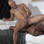 Guys in Sweatpants Austin Wilde and Liam Cyber Bareback Interracial Sex Amateur Gay Porn 10 150x150 Austin Wilde Takes A Big Black Bareback Cock Up The Ass