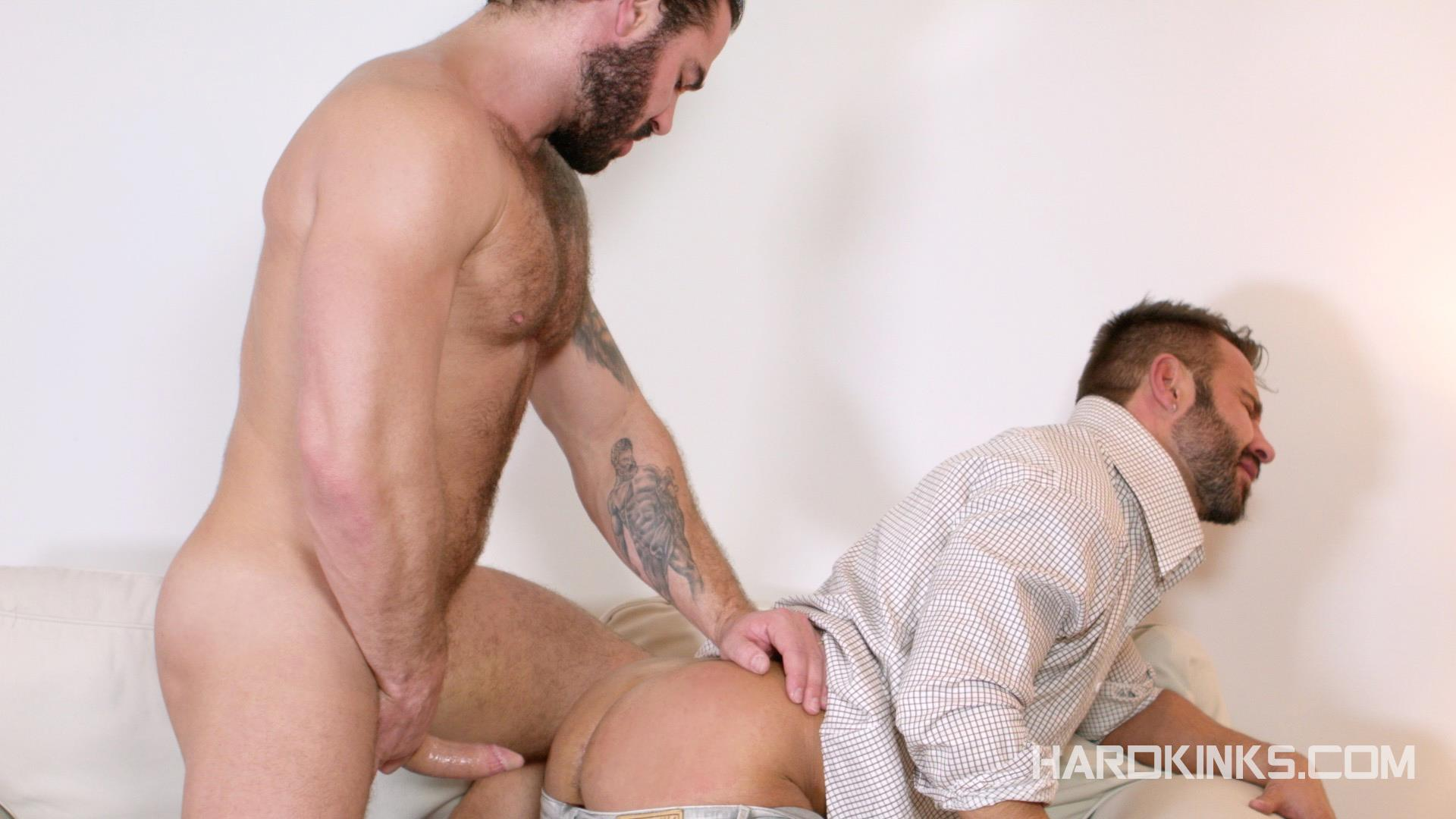Hardkinks Jessy Ares and Martin Mazza Hairy Alpha Male Amateur Gay Porn 11