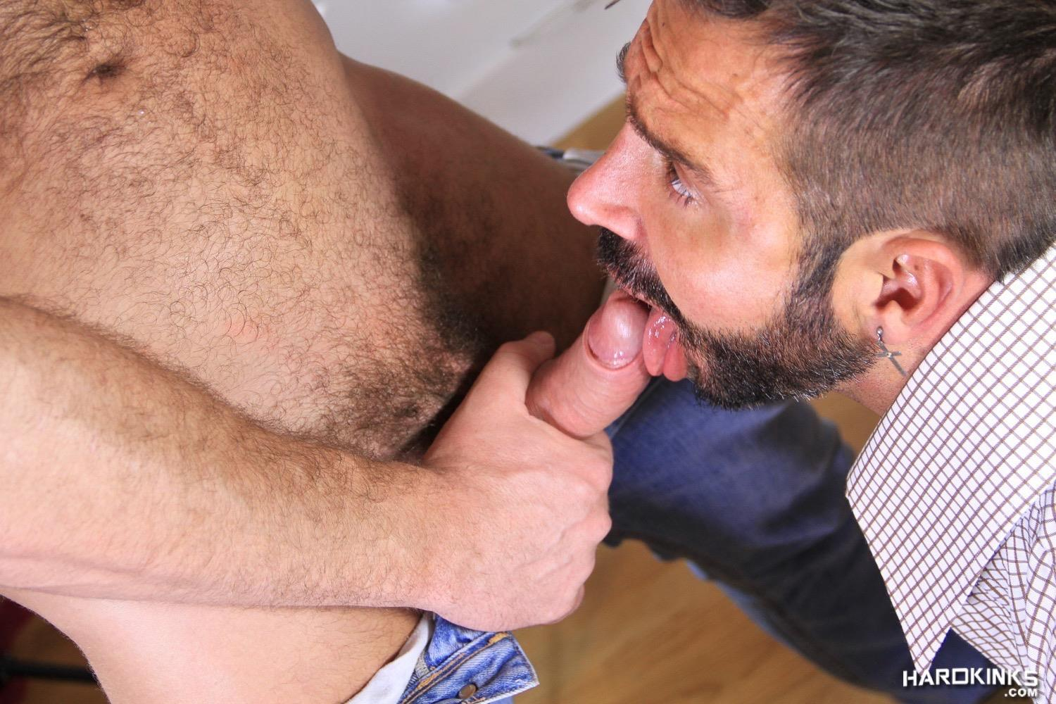 Hardkinks Jessy Ares and Martin Mazza Hairy Alpha Male Amateur Gay Porn 26