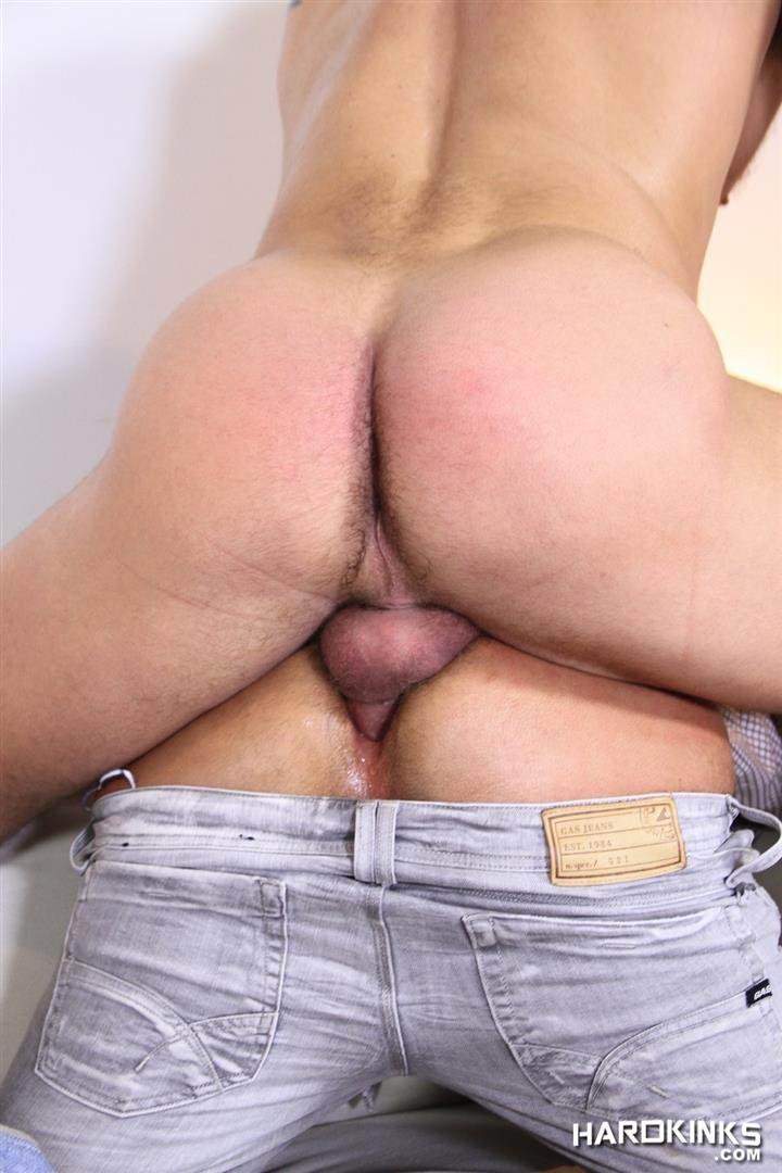 Hardkinks Jessy Ares and Martin Mazza Hairy Alpha Male Amateur Gay Porn 38