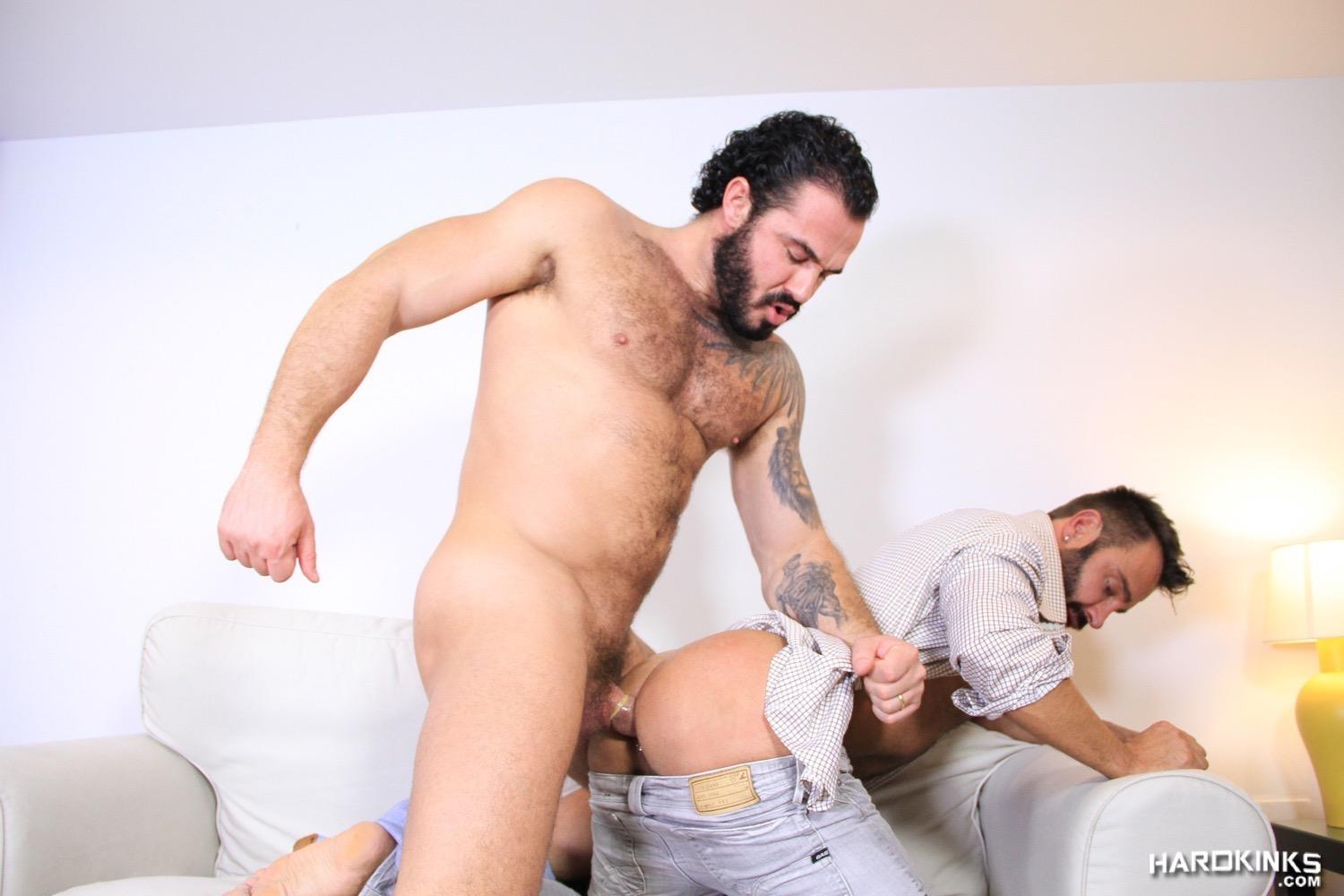 Hardkinks Jessy Ares and Martin Mazza Hairy Alpha Male Amateur Gay Porn 41