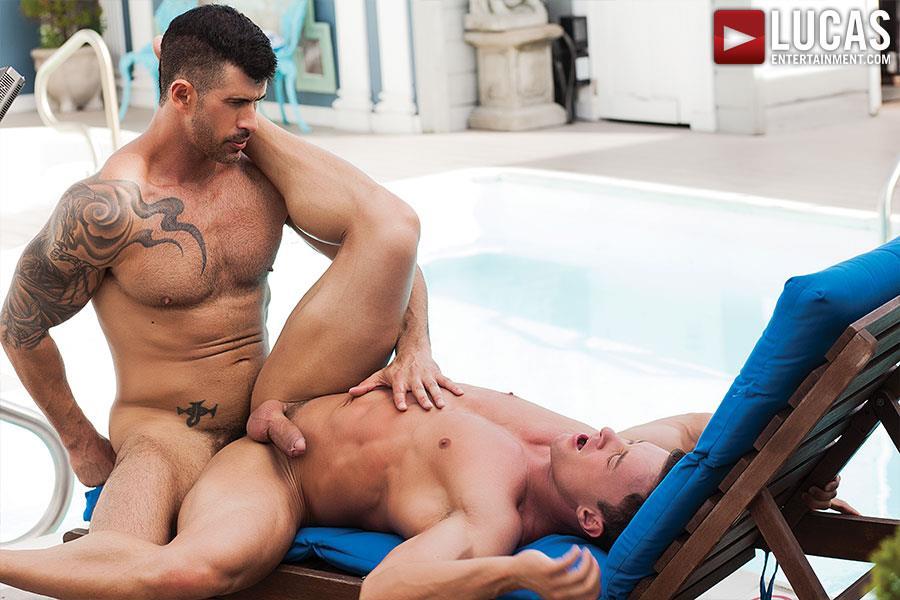 Lucas Entertainment Alexander Volkov and Adam Killian Muscule Bareback Fuck Amateur Gay Porn 07